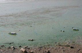 Vatandaşlara uzak durun uyarısı yapıldı! Atatürk Baraj Gölü'nde korkutan görüntü